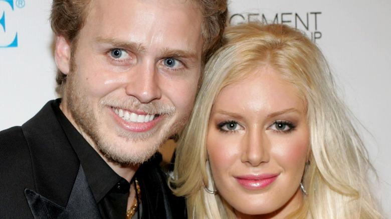 Spener Pratt poses with wife Heidi Montag