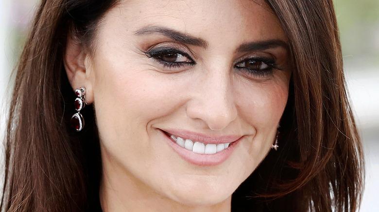 Penélope Cruz smiling