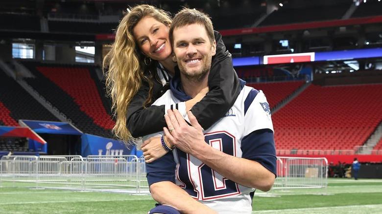 Tom Brady and Gisele Bundchen 2019