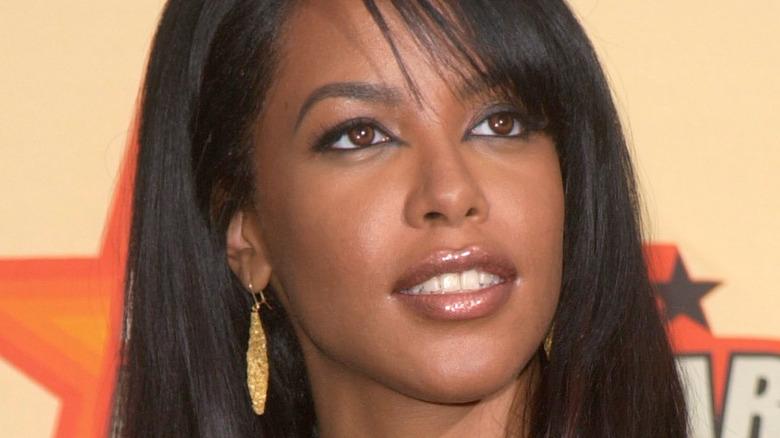 Aaliyah at event