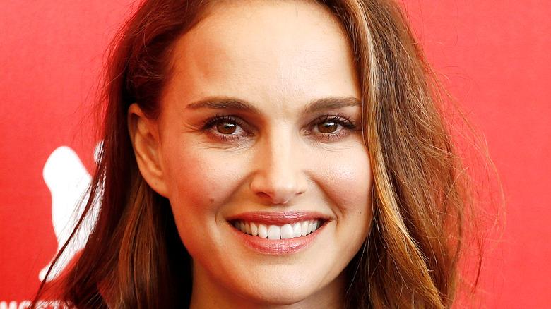Natalie Portman smiling