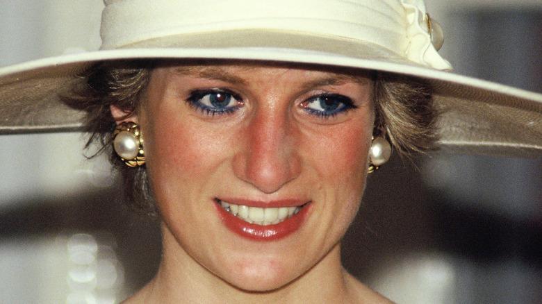 Princess Diana in Indonesia.