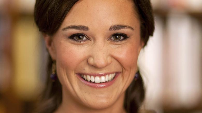 Pippa Middleton smile