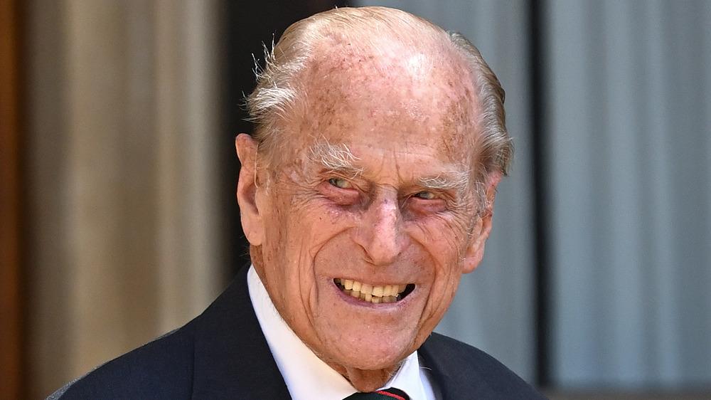 Prince Philip smiling