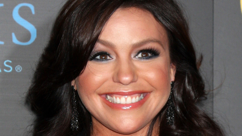 Rachel Ray smiling on the red carpet