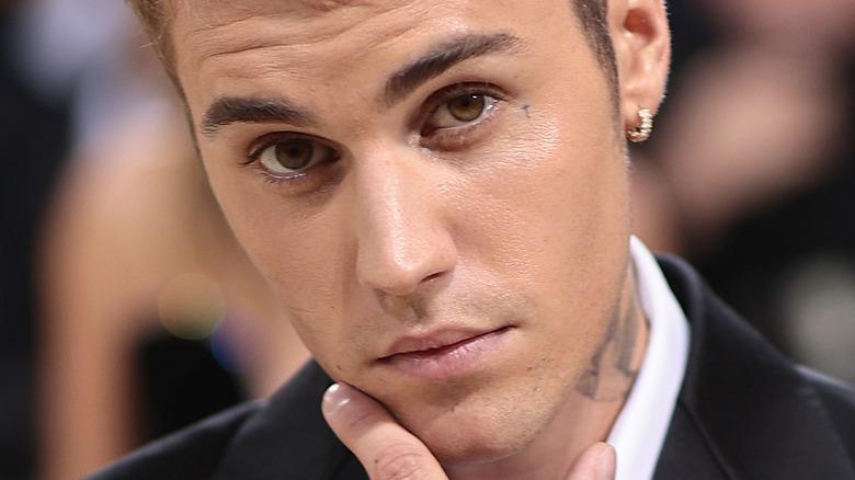 Justin Bieber at Met Gala 2021