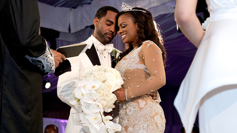 Kandi Burruss' wedding on Real Housewives