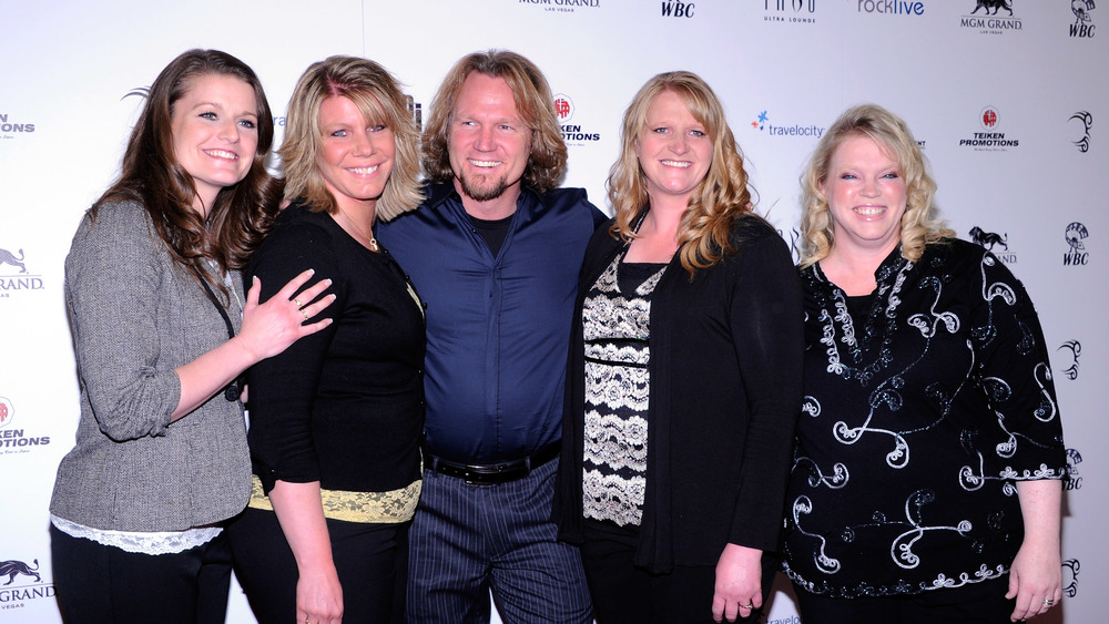 Kody Brown and his four sister wives on the red carpet