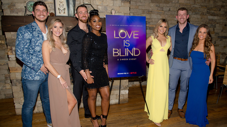The cast of Netflix's Love is Blind