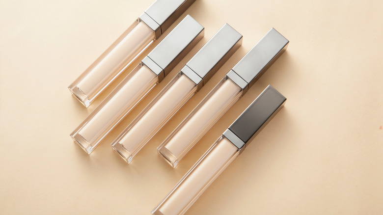 Liquid concealers next to each other