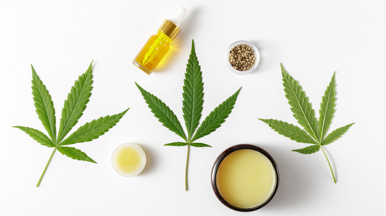 CBD-infused makeup products