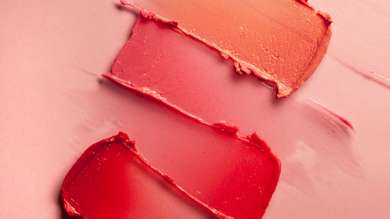 Lipstick abstract