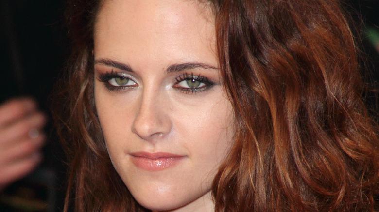 Actress Kristen Stewart on the red carpet.