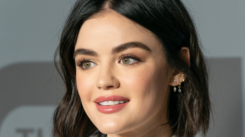 Lucy Hale smiling