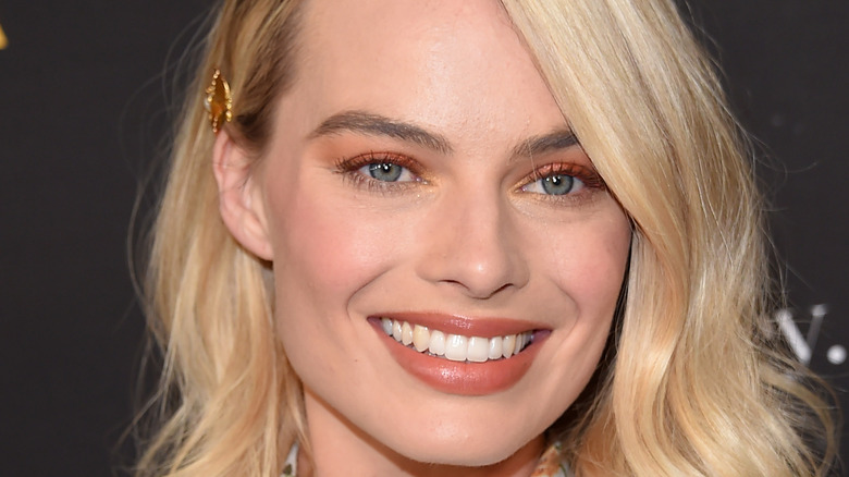 Margot Robbie smiling