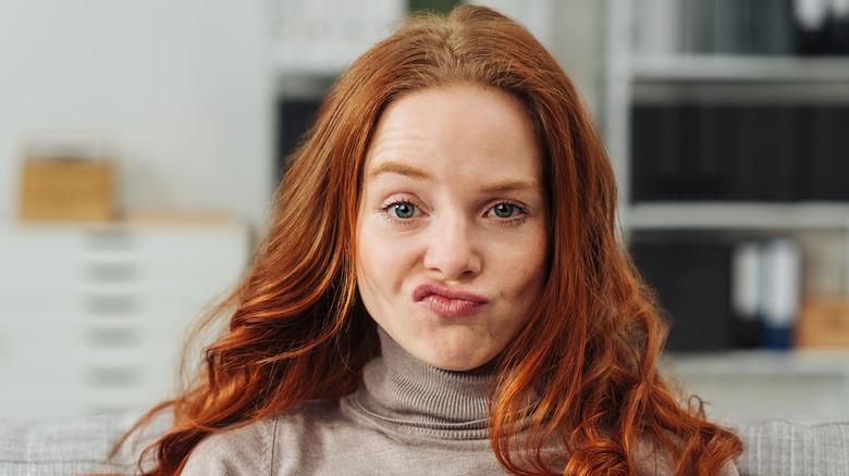 Redhead Eyebrows
