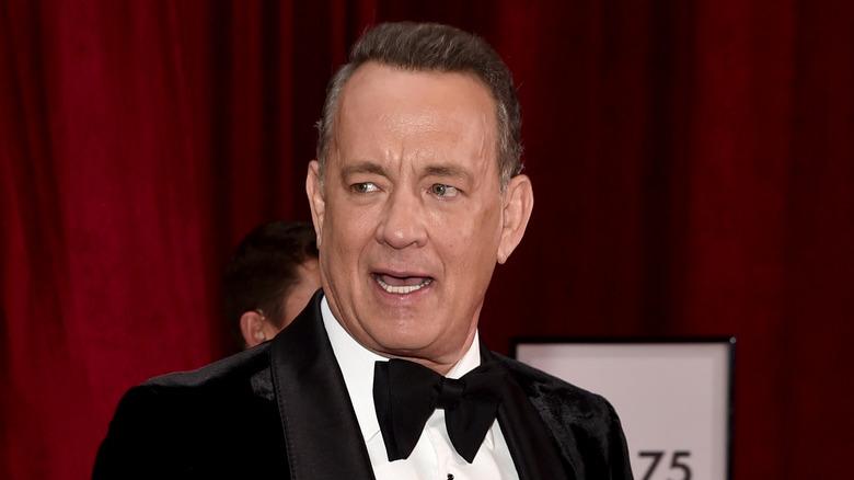 Tom Hanks in tuxedo