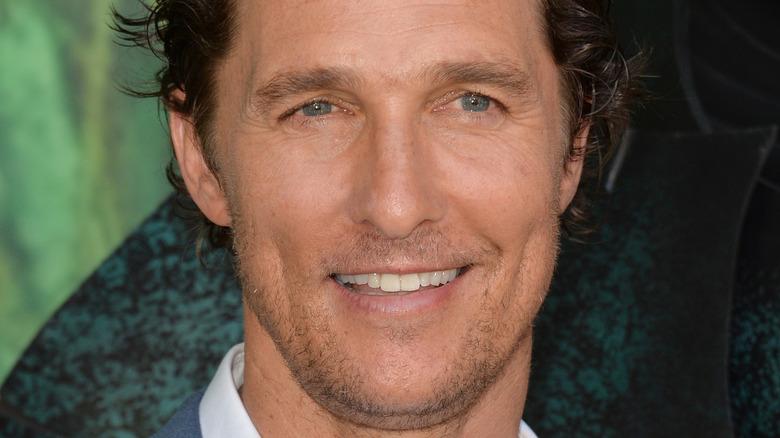 Matthew McConaughey at event