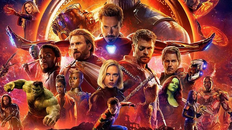 Avengers Infinity War poster MCU Marvel