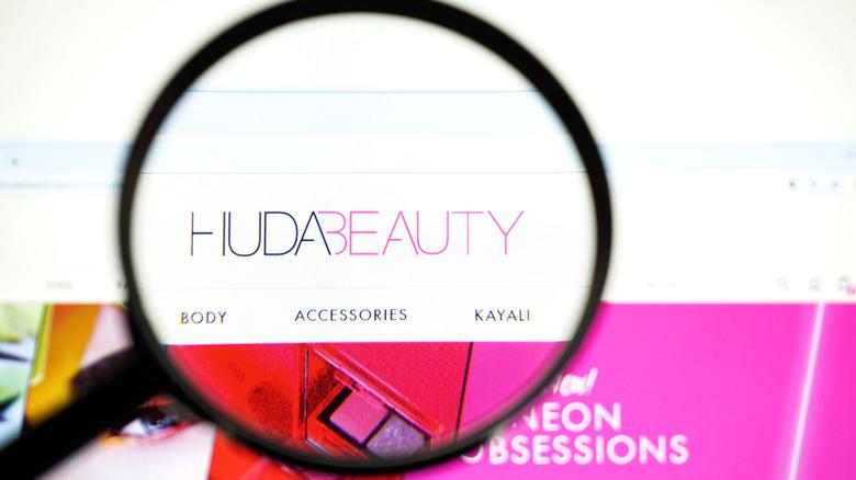 Huda Beauty website