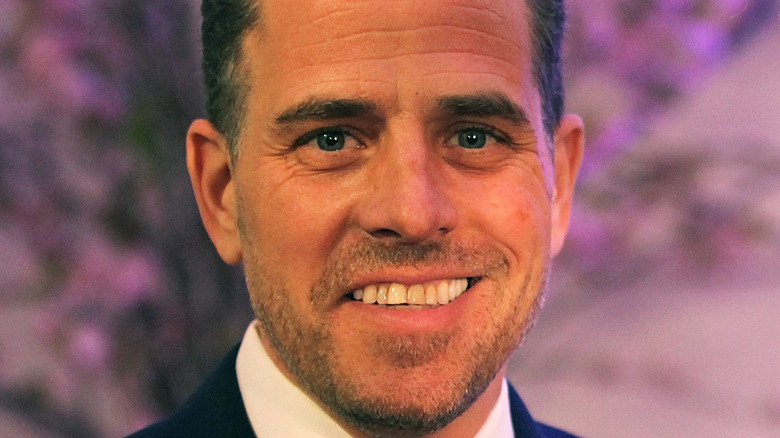 Hunter Biden during a campaign event