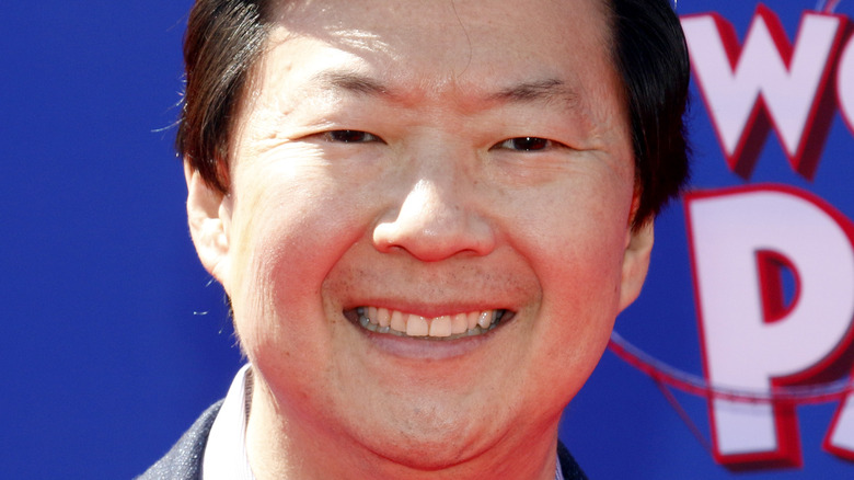 Ken Jeong smiling