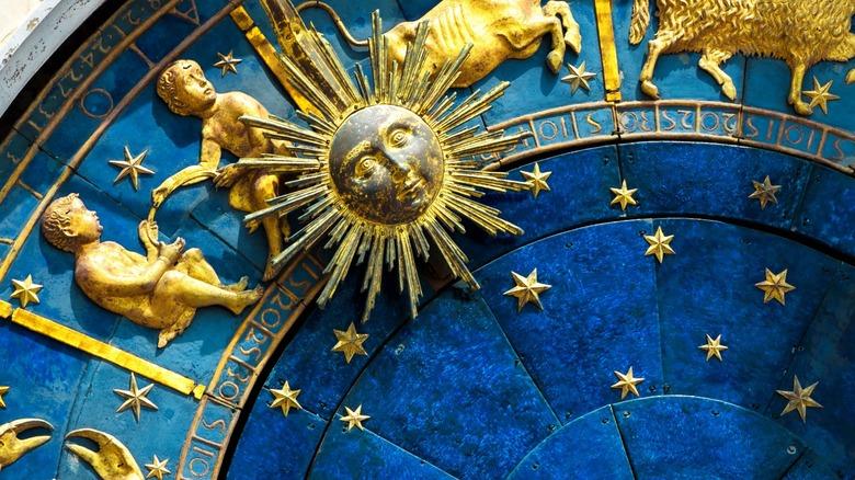 Gemini zodiac symbol