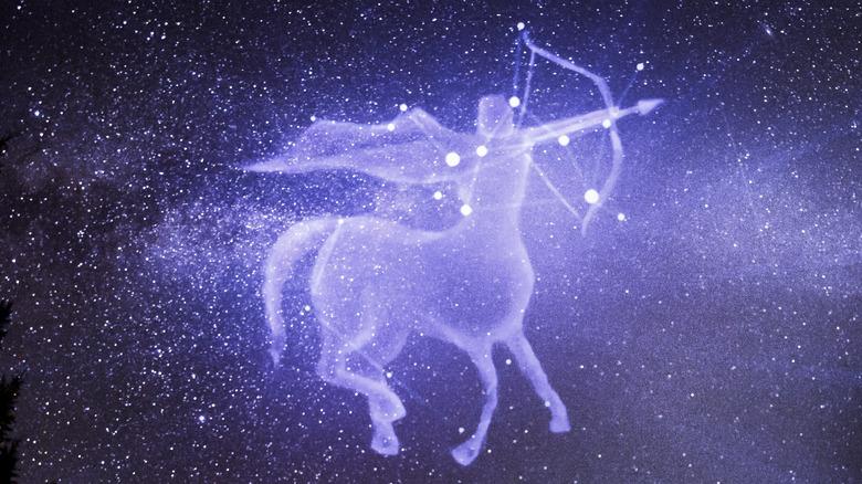 Sagittarius image night sky