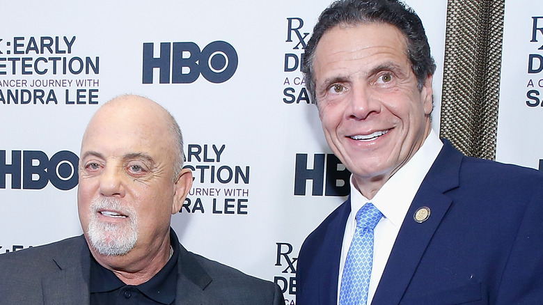 Billy Joel and Andrew Cuomo in NYC