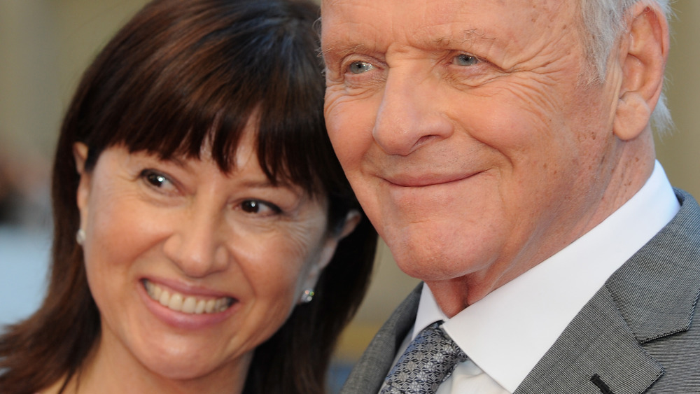 Anthony Hopkins and Stella Arroyave
