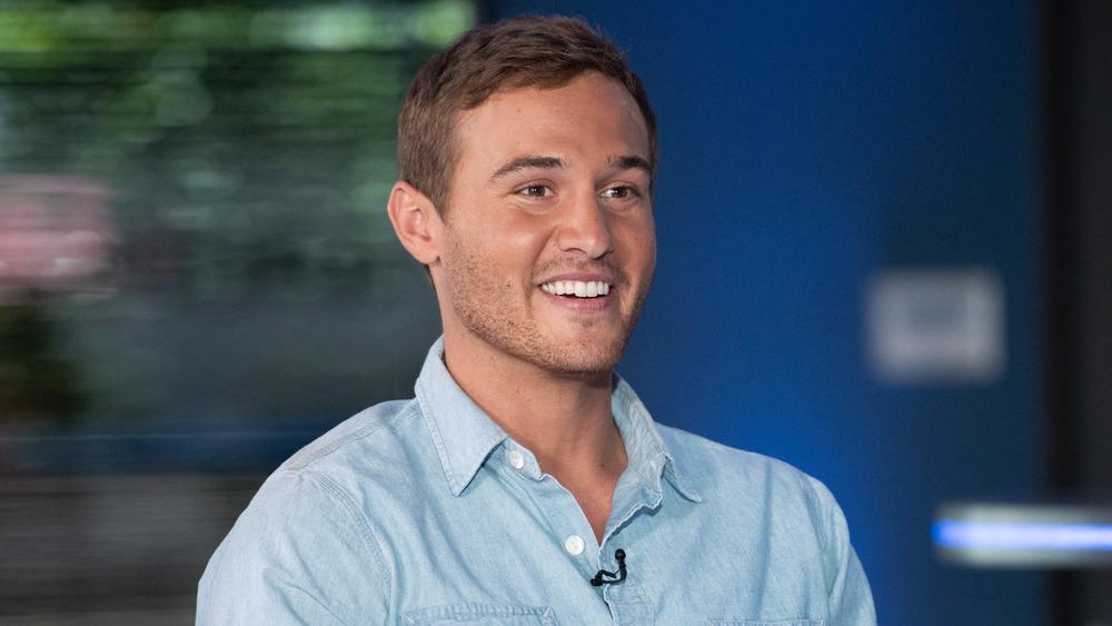 Peter Weber in blue shirt