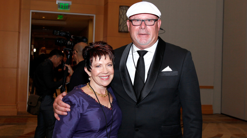 Bruce Arians and Christine Arians smiling