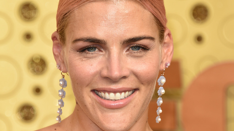 Busy Phillips smiling