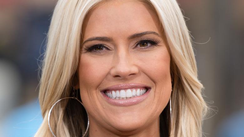 Closeup of Christina Haack