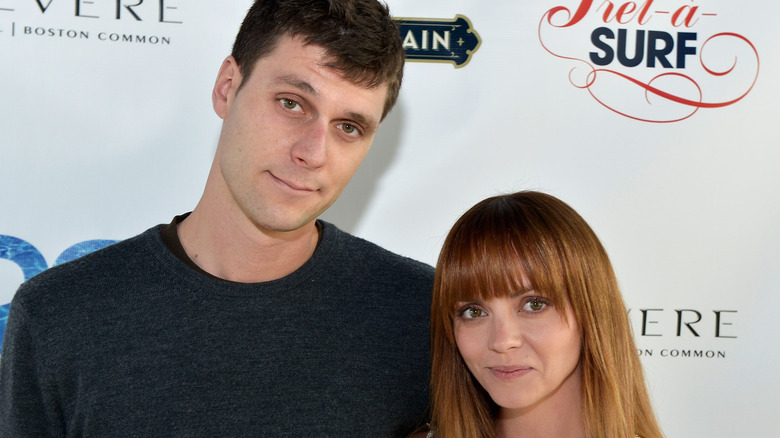 Christina Ricci and James Heerdegen attend an event together