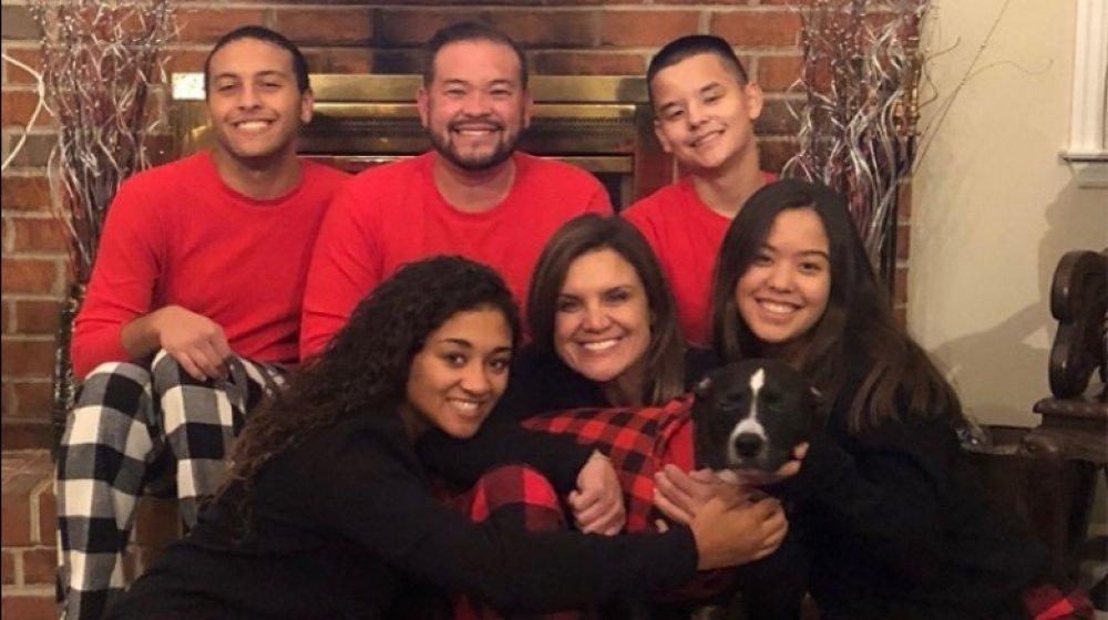 Jon Gosselin and family