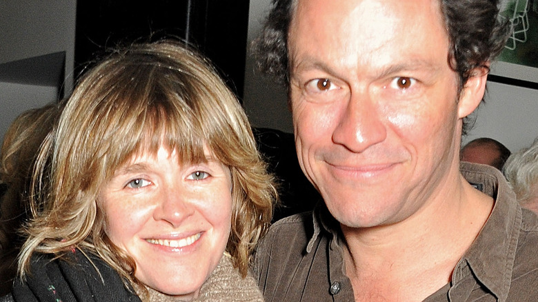 Dominic West and Catherine FitzGerald together