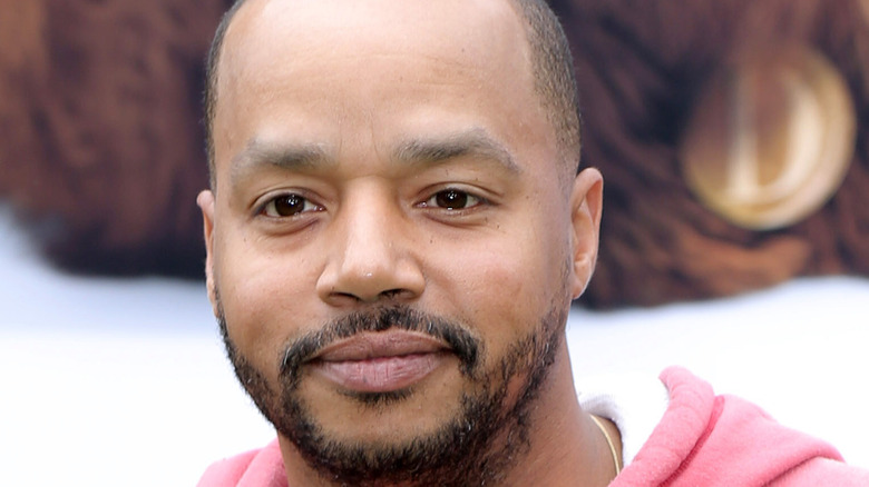Donald Faison on the red carpet