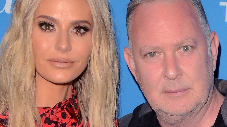 Dorit and Paul Kemsley pose on the red carpet together