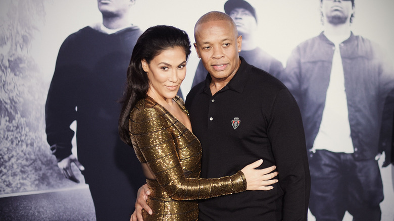 Dr. Dre and Nicole Young, estranged