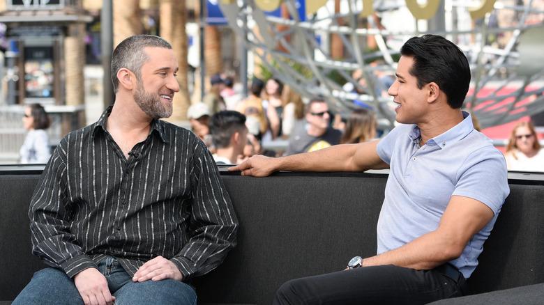 Dustin Diamond and Mario Lopez