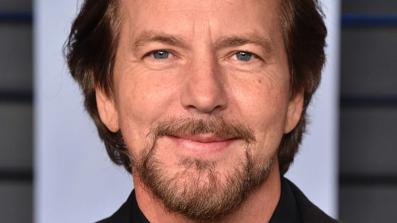 Eddie Vedder smiling