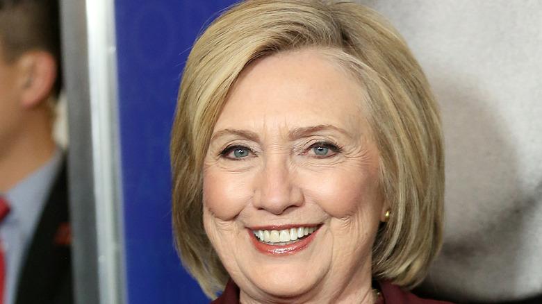 Hillary Clinton smiling