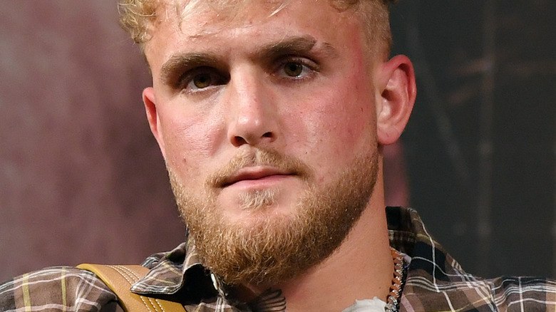 Jake Paul at an event