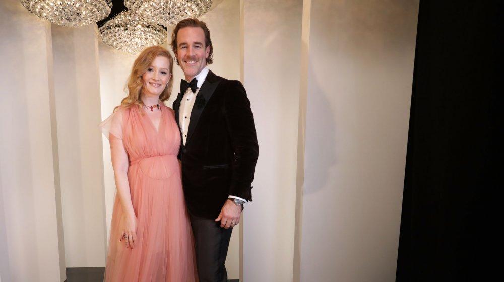 James and Kimberly Van Der Beek