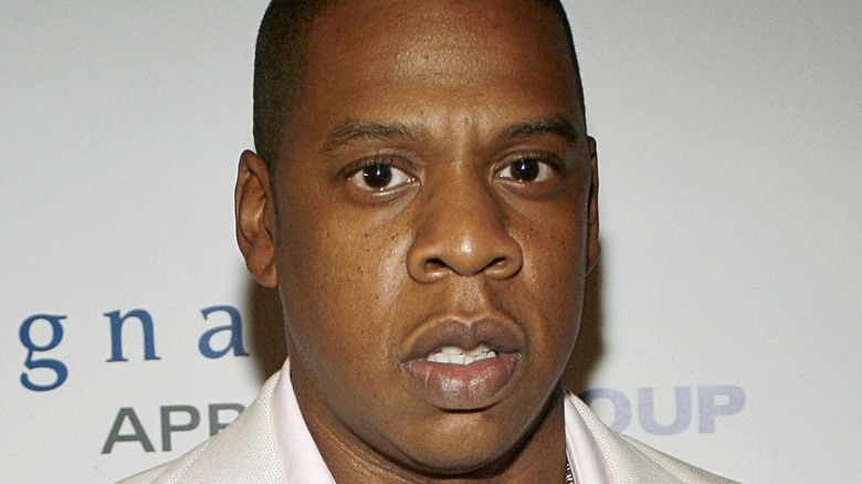 Jay-Z at event