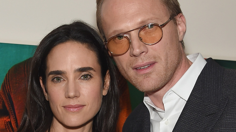 Jennifer Connelly and Paul Bettany attending an event