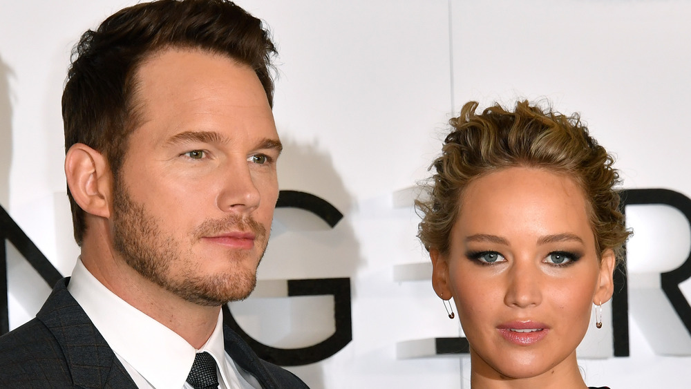 Jennifer Lawrence and Chris Pratt 'Passengers' premier