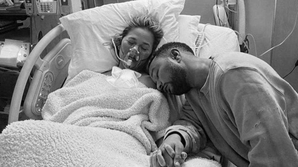 Chrissy Teigen and John Legend, pregnancy loss