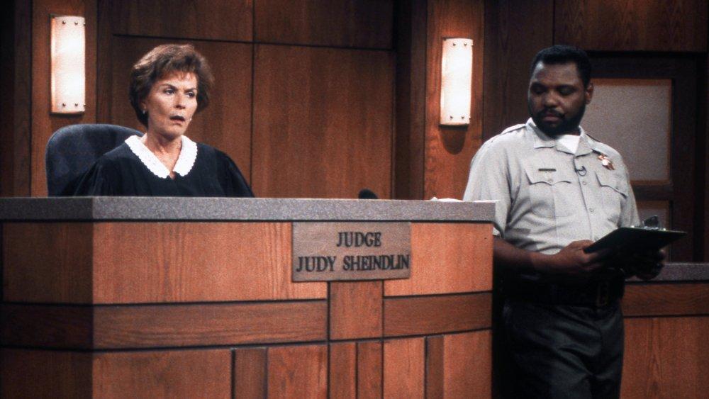 Judge Judy Sheindlin and Petri Hawkins Byrd